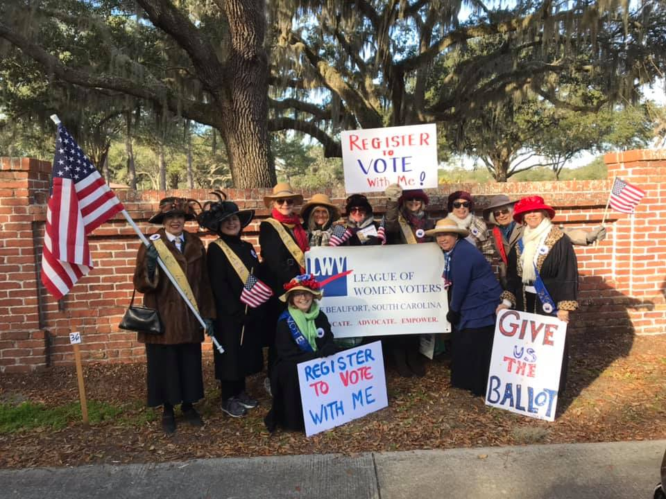 Become a Member of the League of Women Voters Beaufort, SC Area