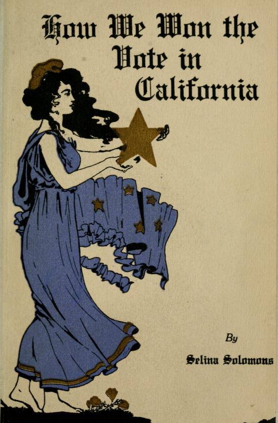 Cover of book, How We Won the Vote in California