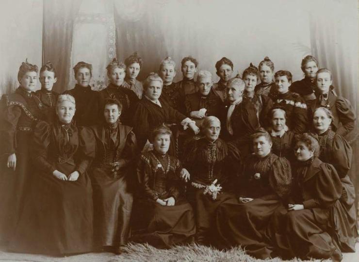 Utah Women's Suffrage - Western Delegates