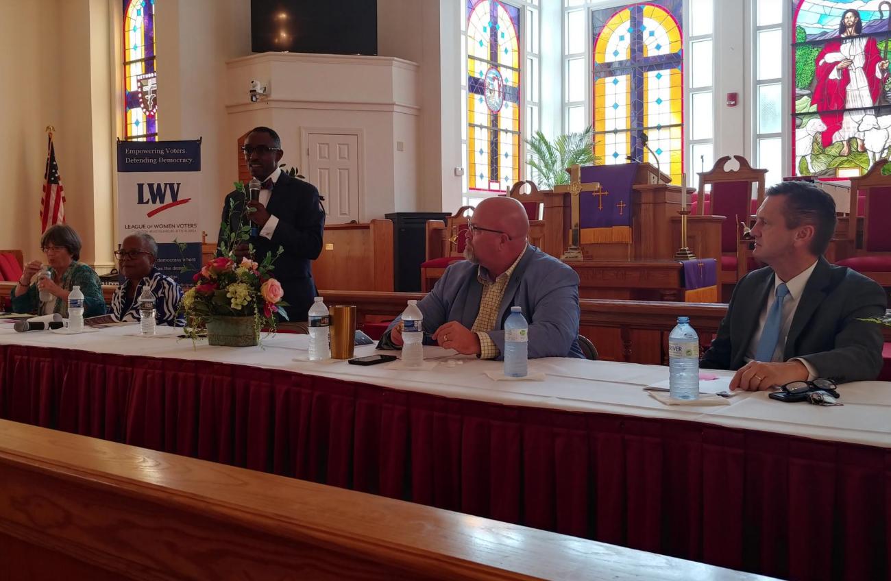 Lowcounty Legislators Davis, Covert address March 31 community meeting