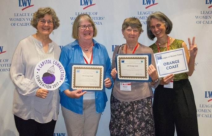 2017 California Convention Delegates from LWVOC
