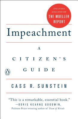 Impeachment, A Citizen's Guide book cover