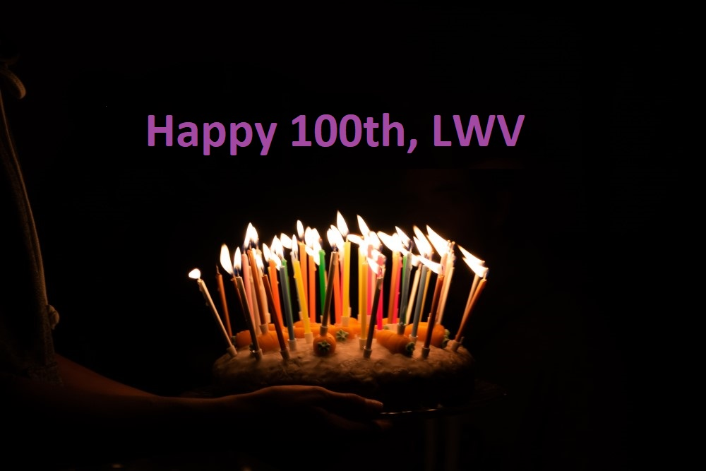 Birthday Cake for LWV 100th Birthday