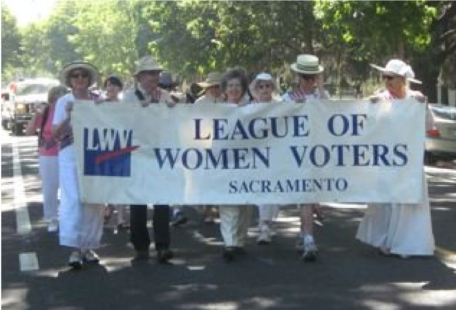 League Suffragists