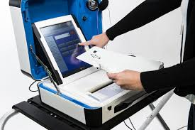 Hart Verity Voting Machine