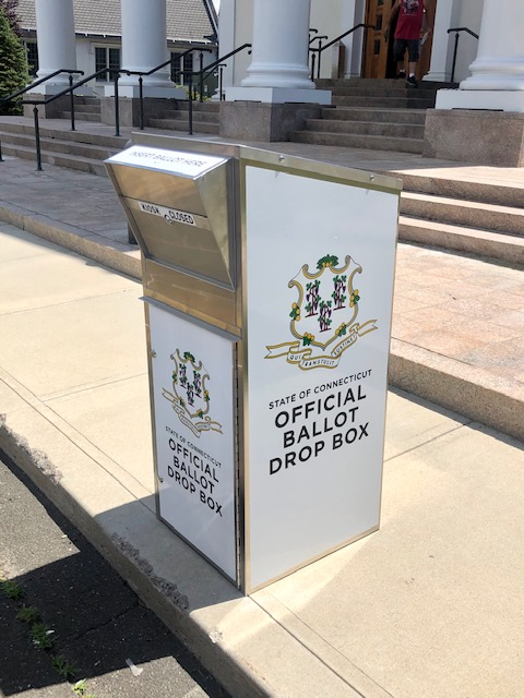 Absentee Ballot Drop Box Photo from SOTS Twitter feed