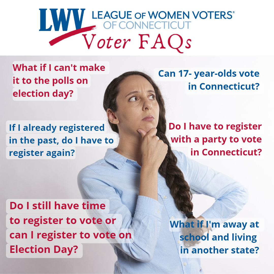 Connecticut Voter FAQs Social Post Image