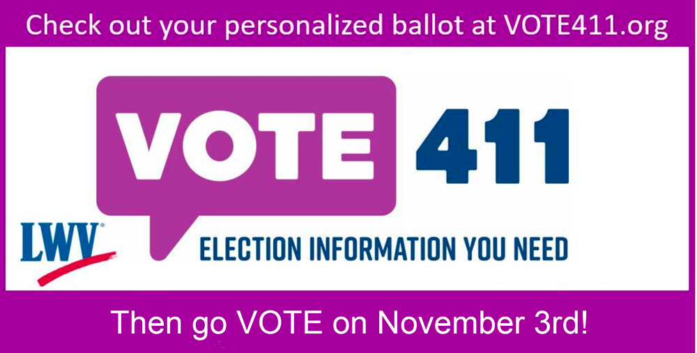 Vote411.org - November 3rd election