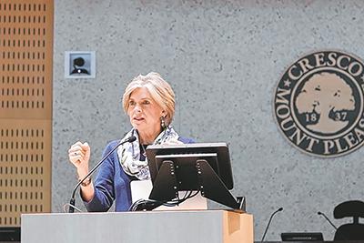 Barbara Fry, League ERA ratification coordinator