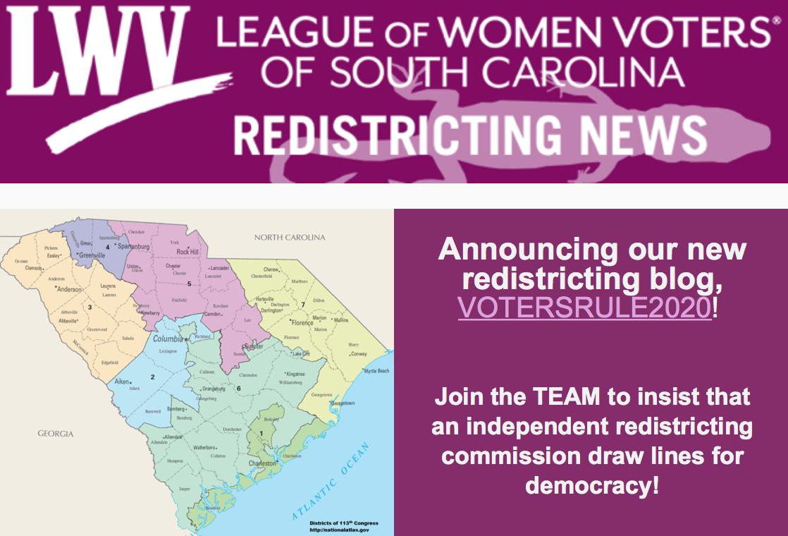 LWVSC Redistricting Blog: VOTERSRULE2020