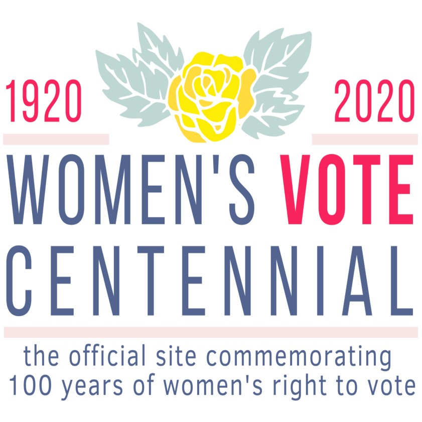 Women's Vote Centennial Logo