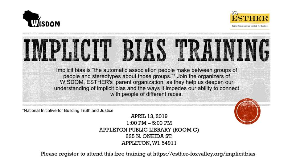 Implicit Bias Training