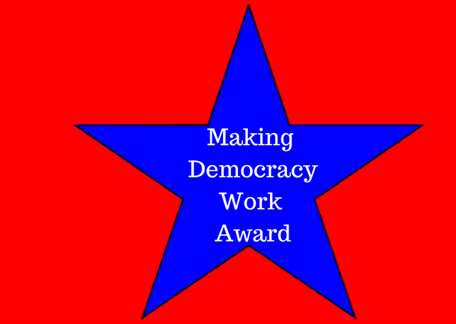 Making Democracy Work Award