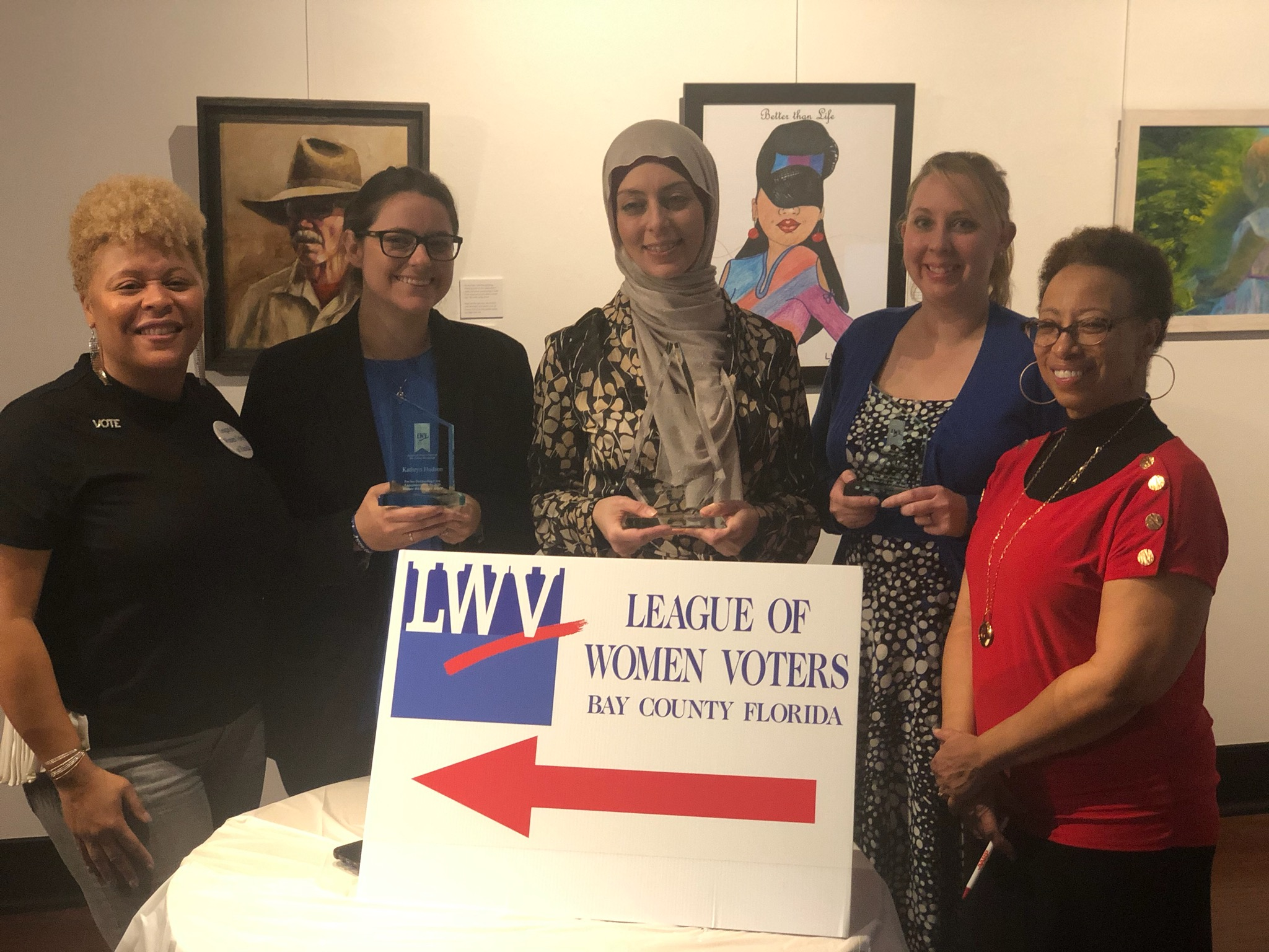 Recognizing millennial women for their outstanding civic contributions