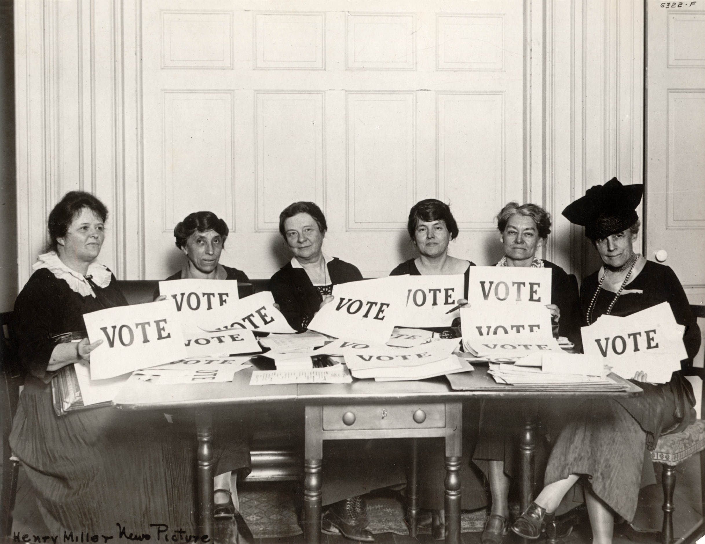 Women Vote Historical photo