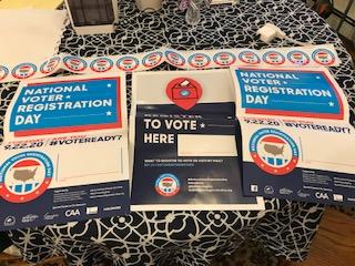 Voter Registration Supplies
