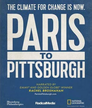 Paris to Pittsburg Logo