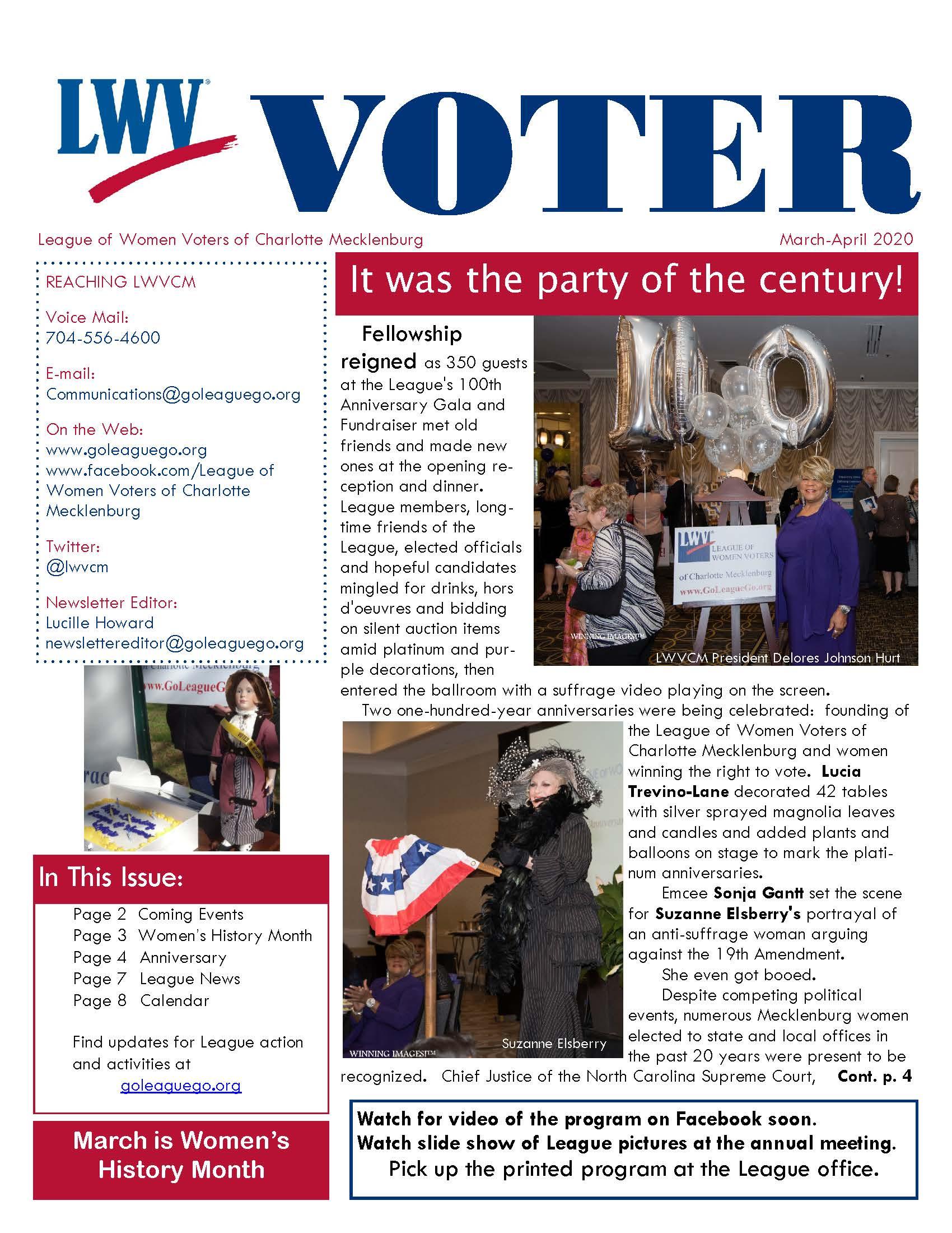 March - April 2020 Voter