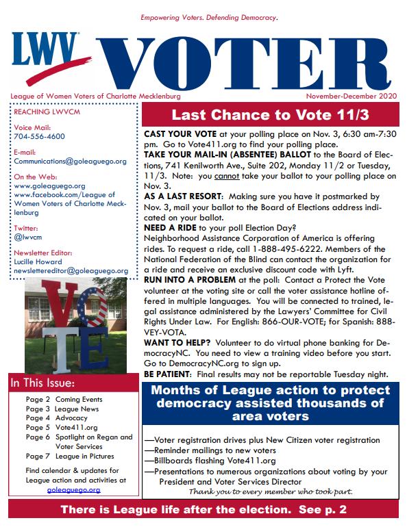 Nov-Dec 2020 Voter