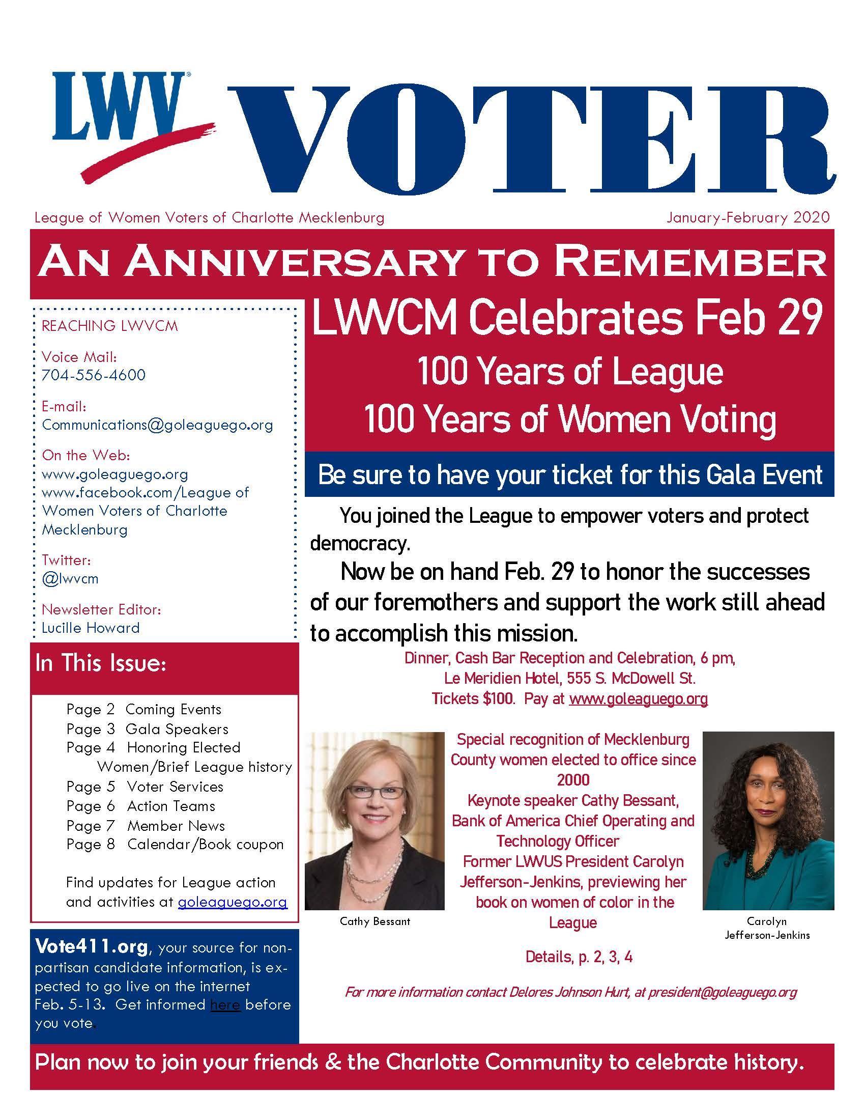 Voter January - February 2020