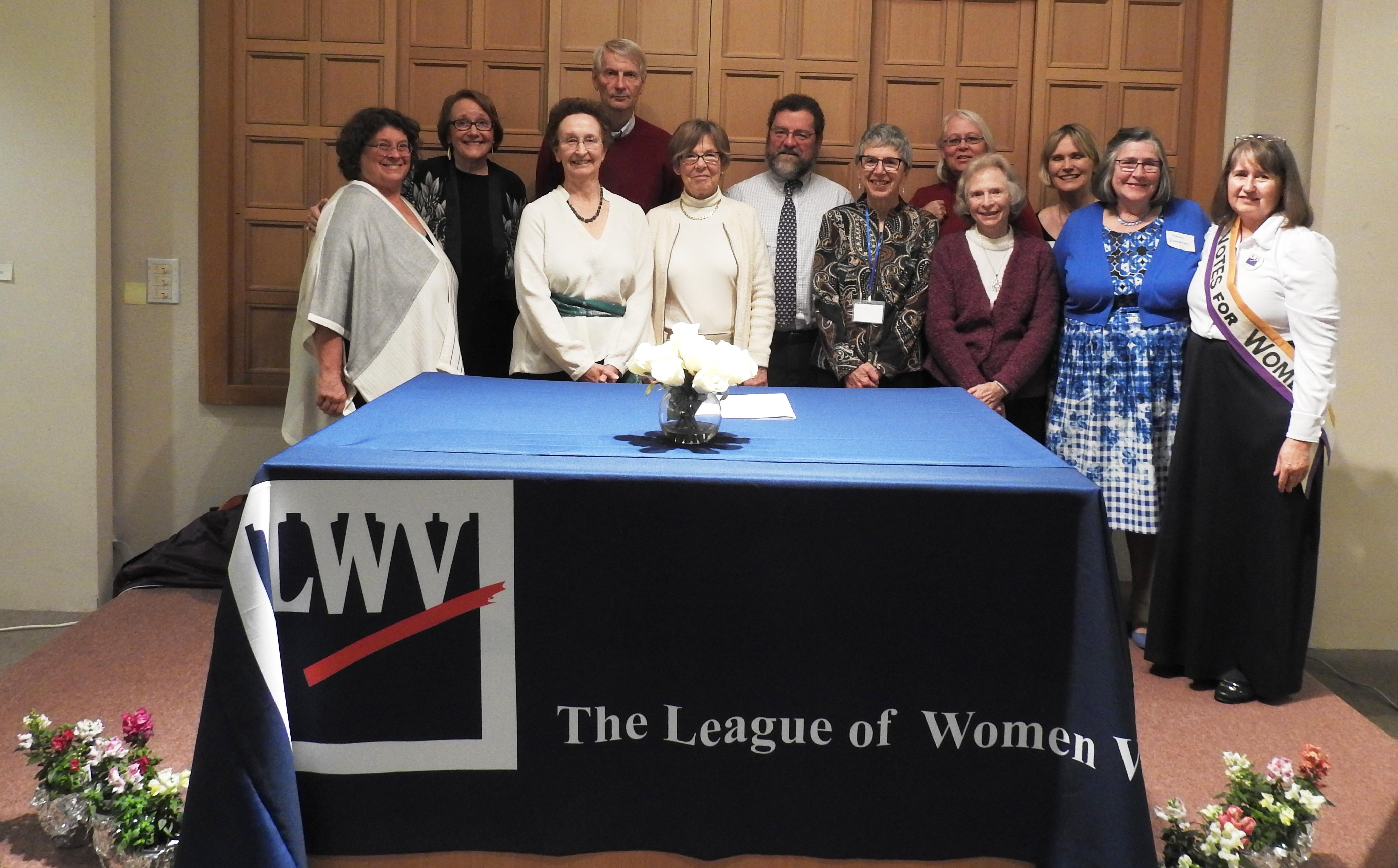 LWVCC Board members 19-20