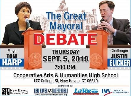 New Haven Democratic Mayoral Primary Debate September 5