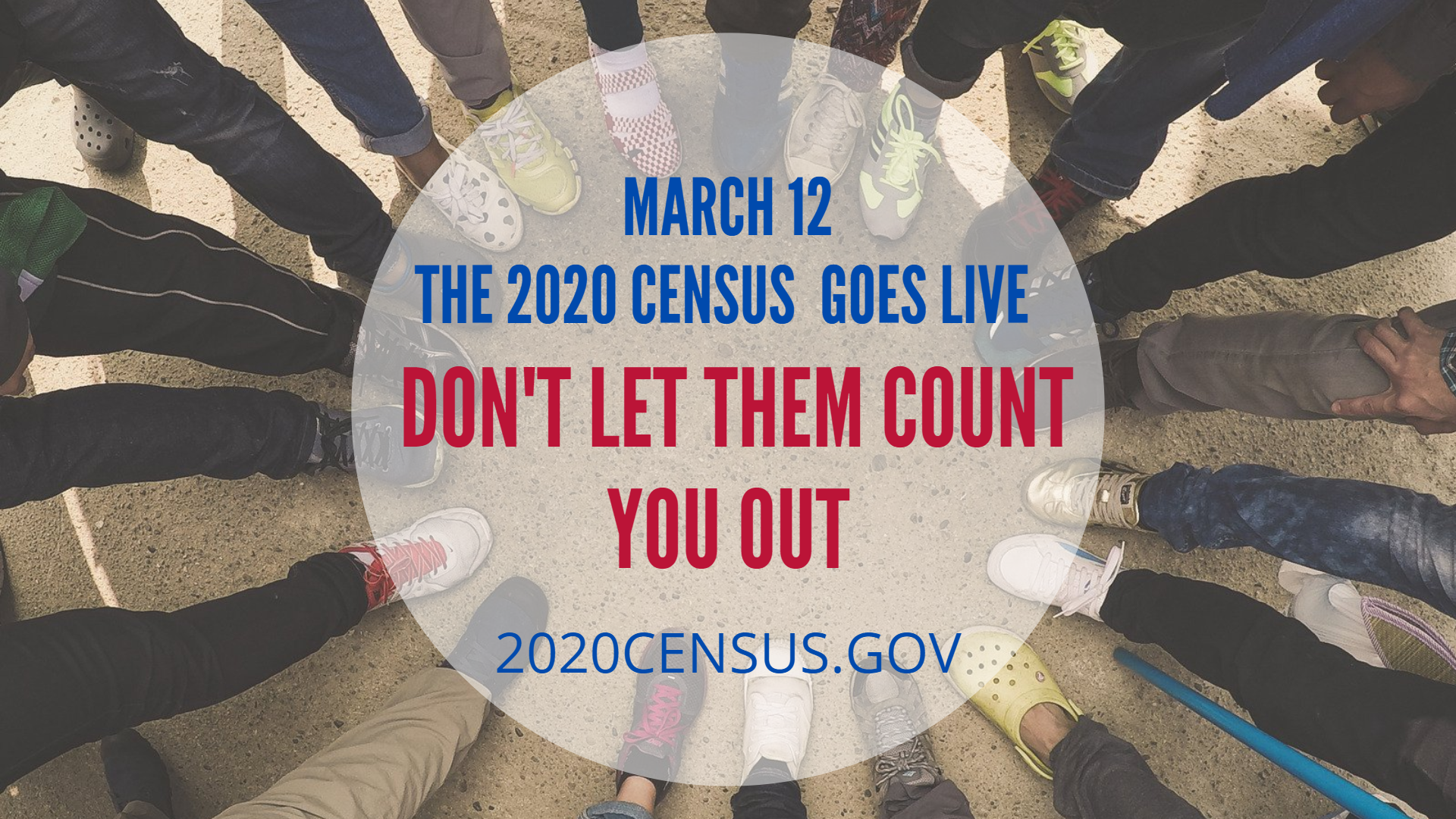 2020 Census Goes Live March 12  Image