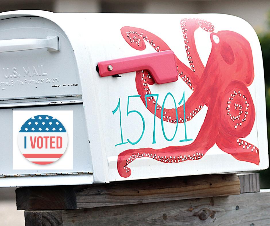 Vote by Mail Mailbox