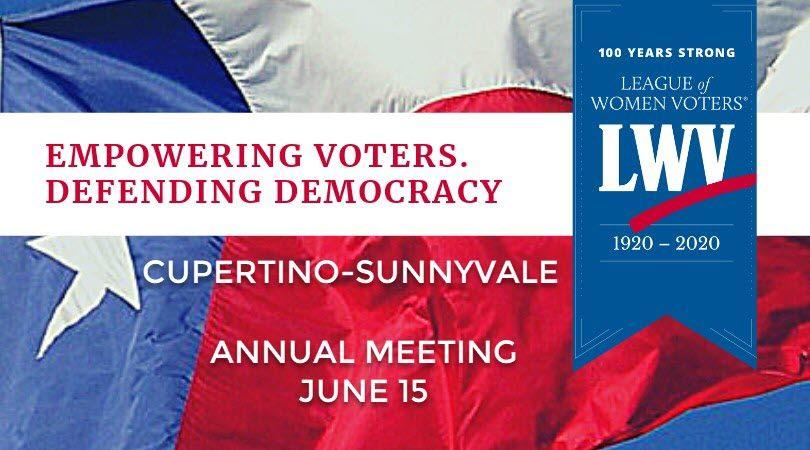 June 15 Annual meeting