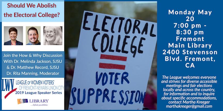 Electoral College Flyer