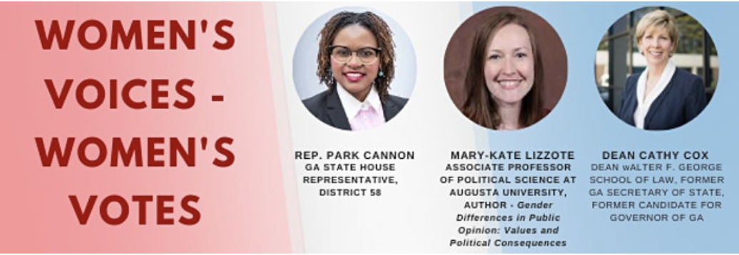 Women's Votes Women's Voices, Equality Week 2020