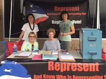 LWVHC Volunteers at Voter Registration Drive in Kona