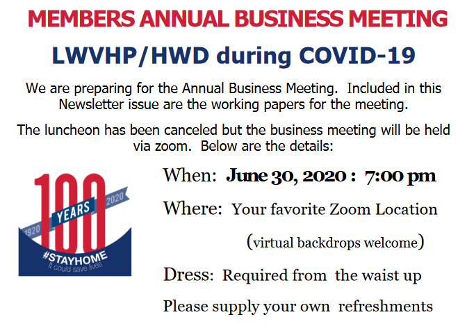 92nd Annual Business Meeting