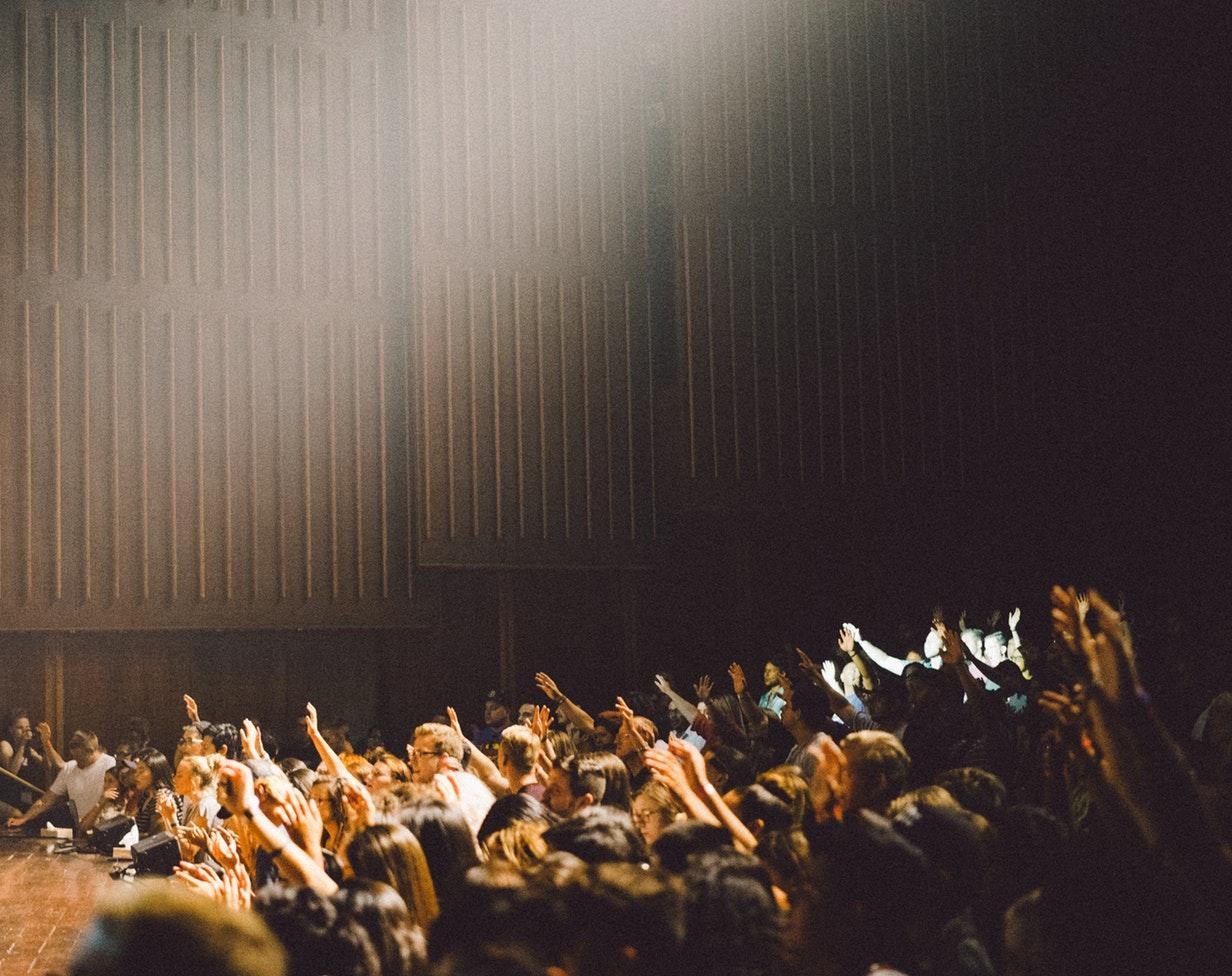 auditorium crowd