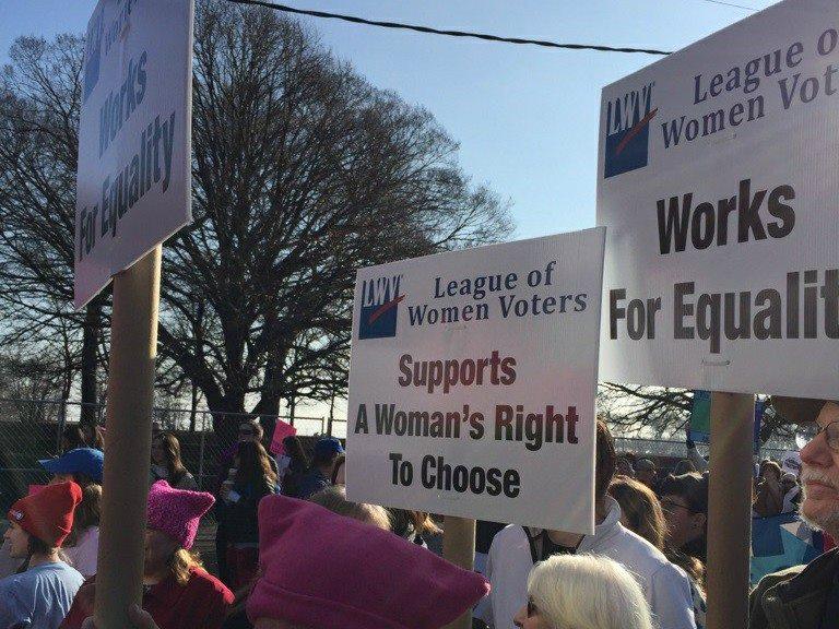 League of Women Voters of Homewood-Flossmoor Area is attending the Chicago Women's March 2020!