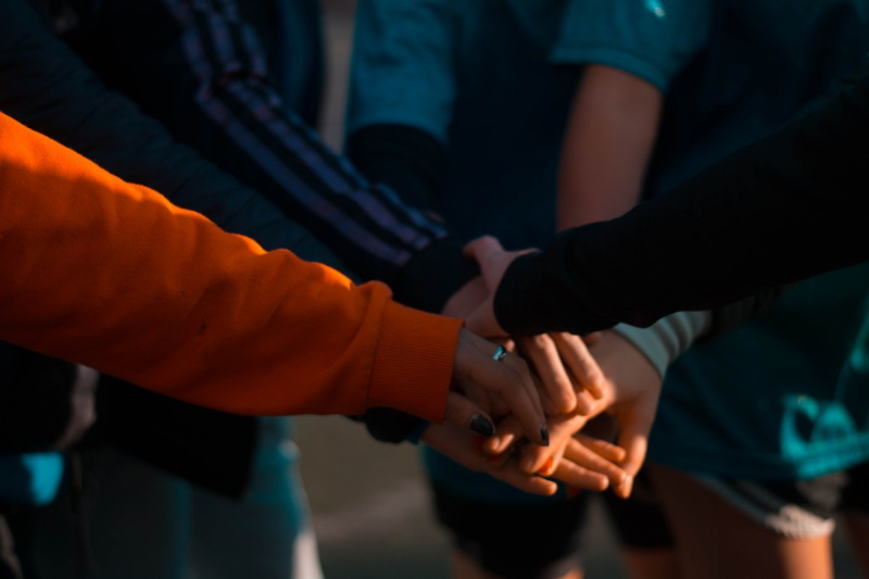 hands, people, team, handshake