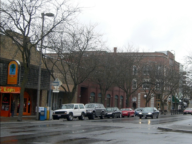 Downtown Moscow, Idaho