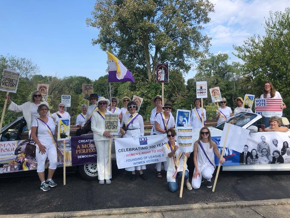 19th Amendement Centennial Parade Kent Ohio