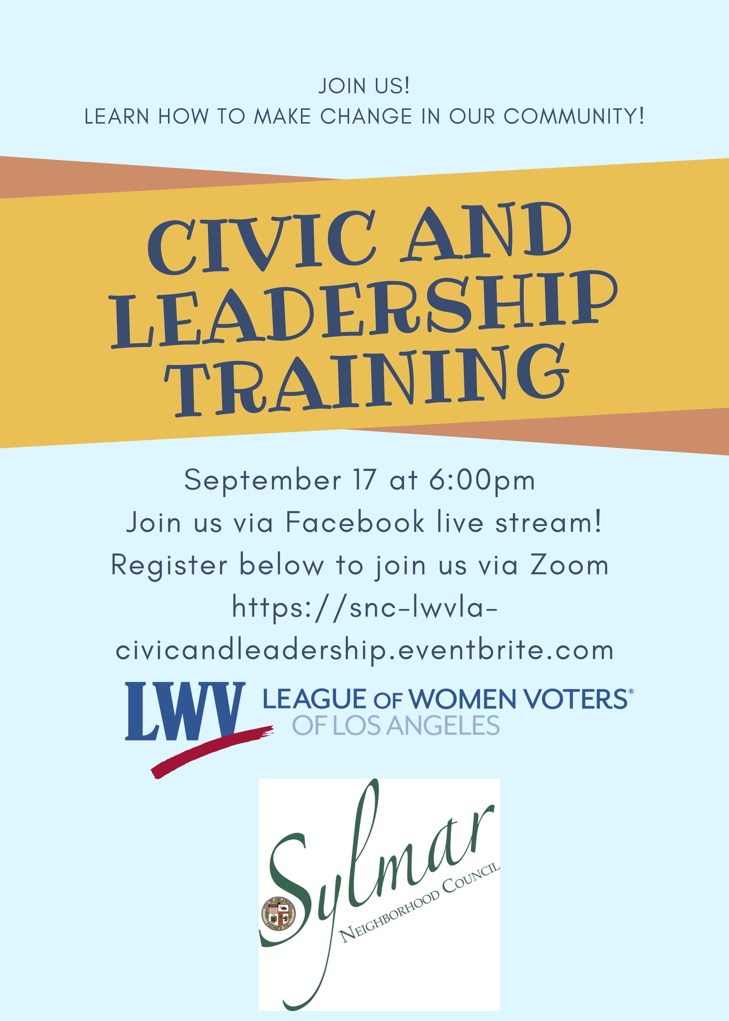 Civic & Leadership Training