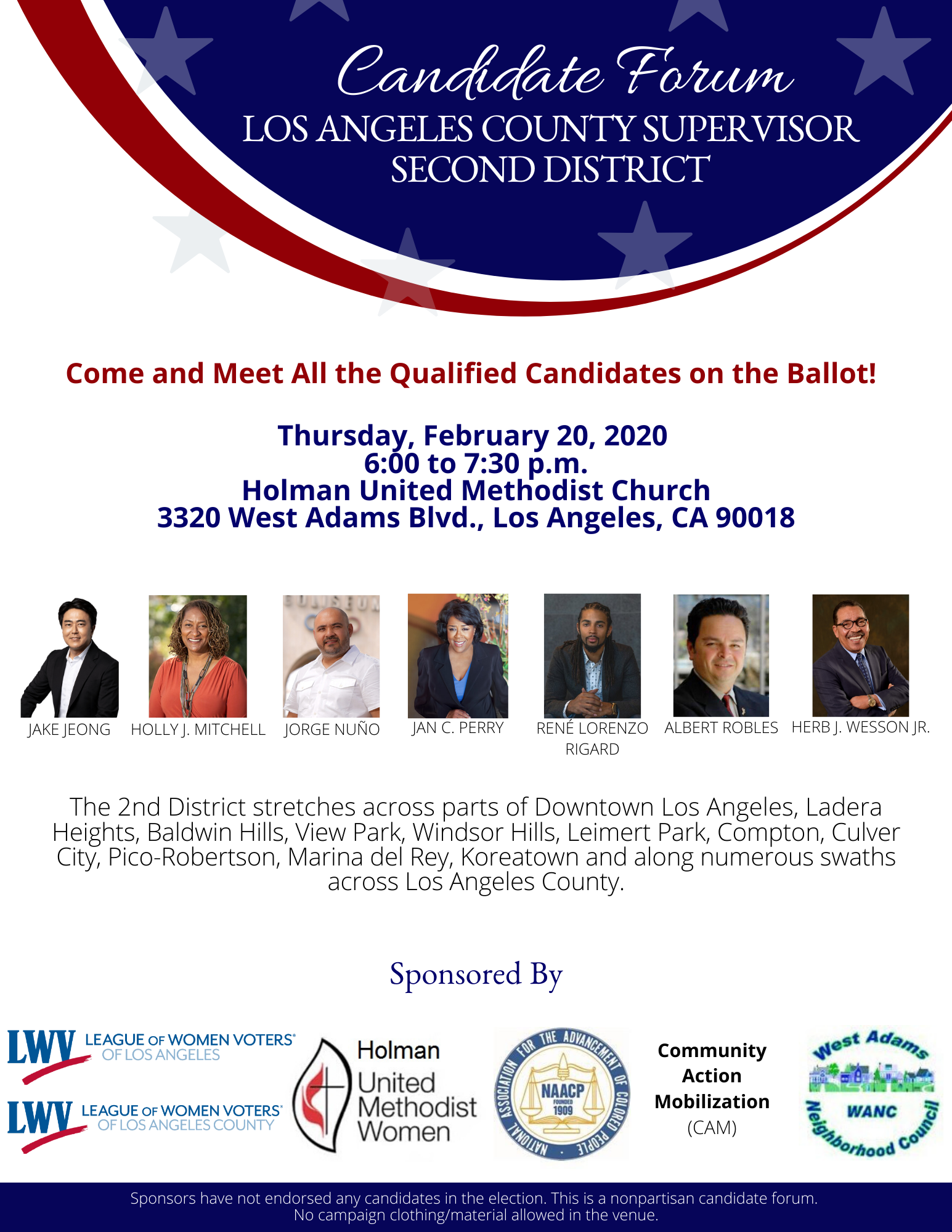 Candidate Forum - 2nd District Supervisor