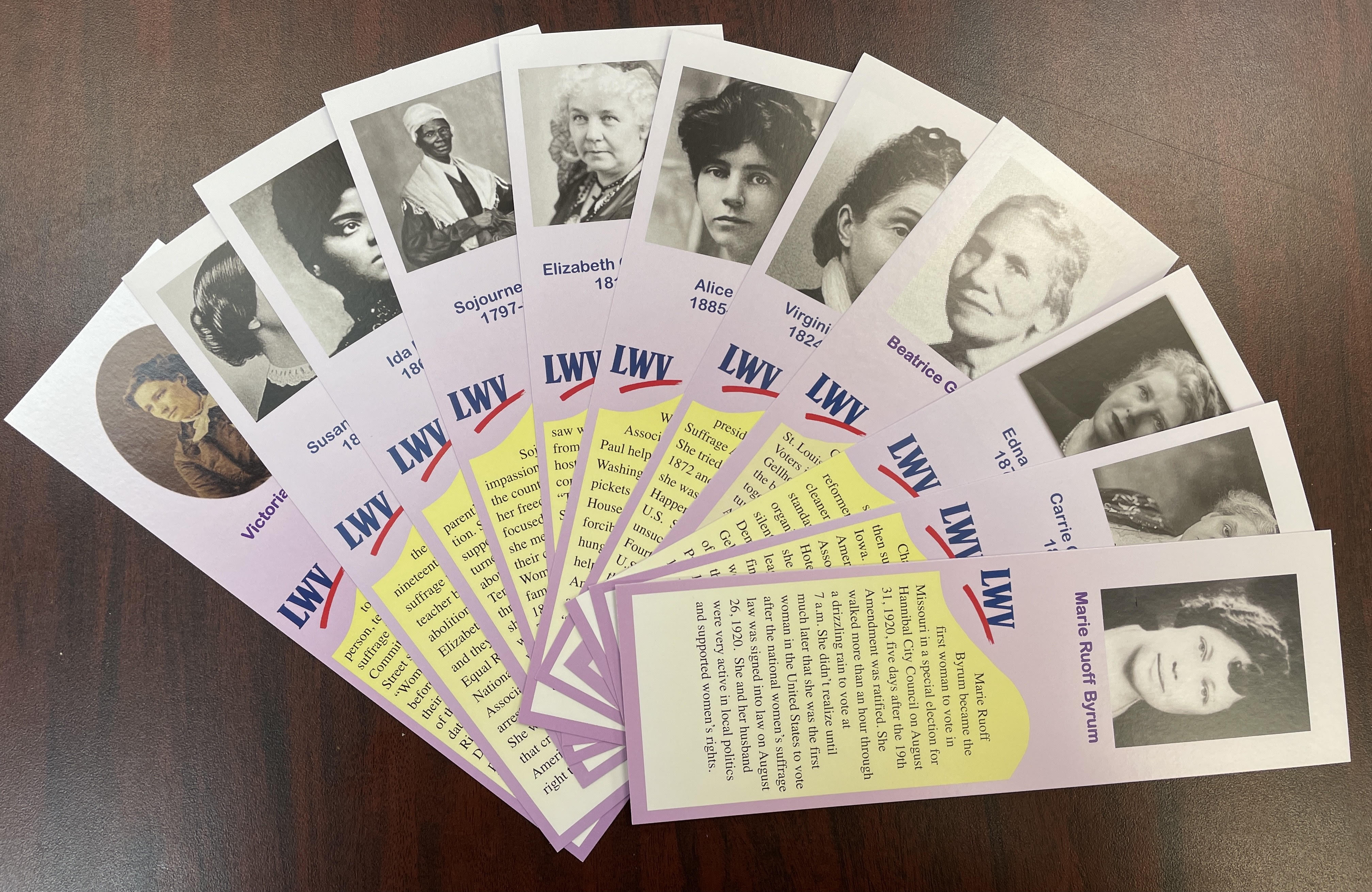 Suffragist Bookmarks
