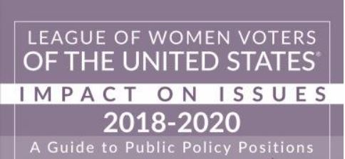 LWVUS Impact on Issues