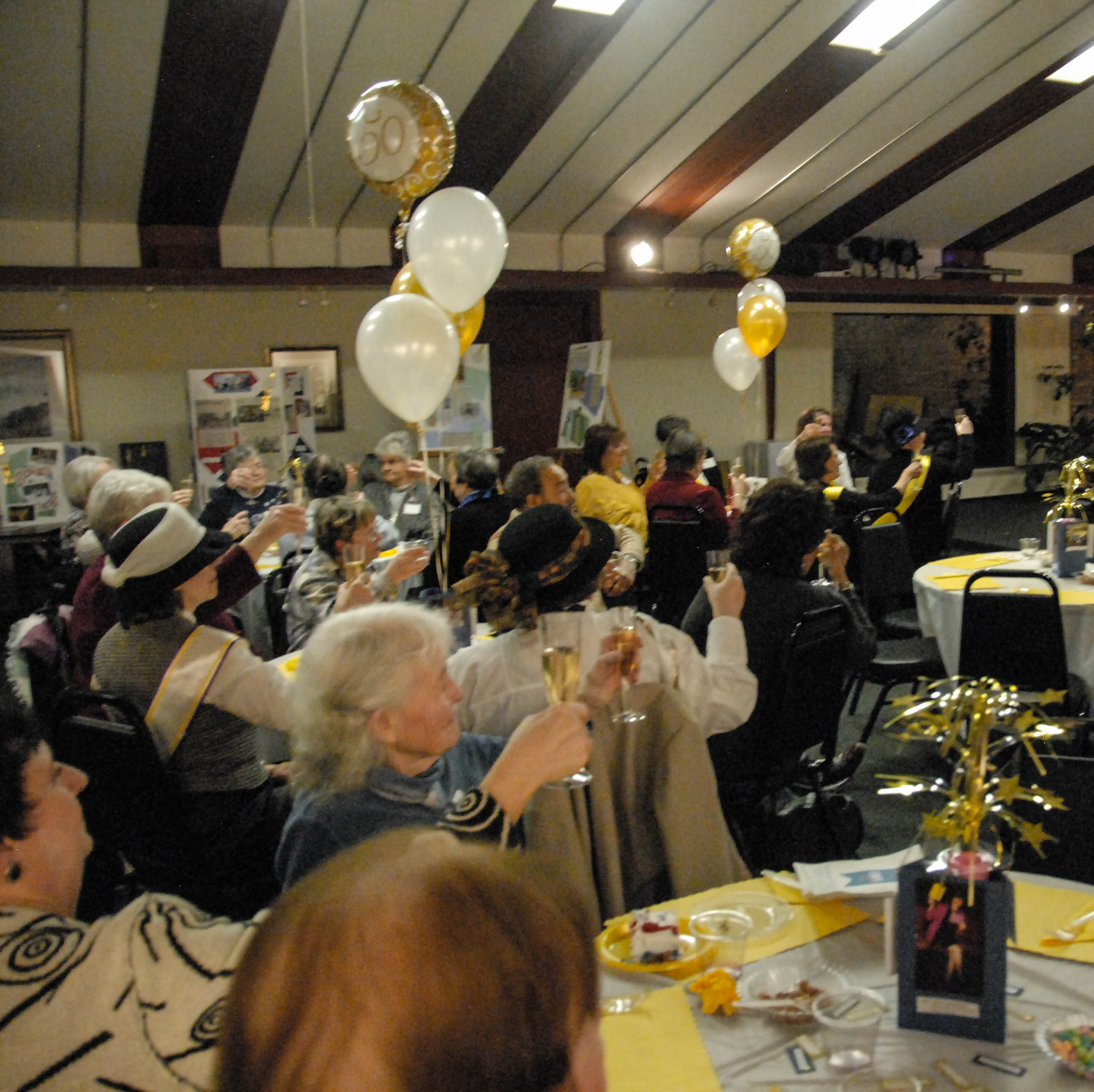 Toast to 50 years of serving the Midland Area