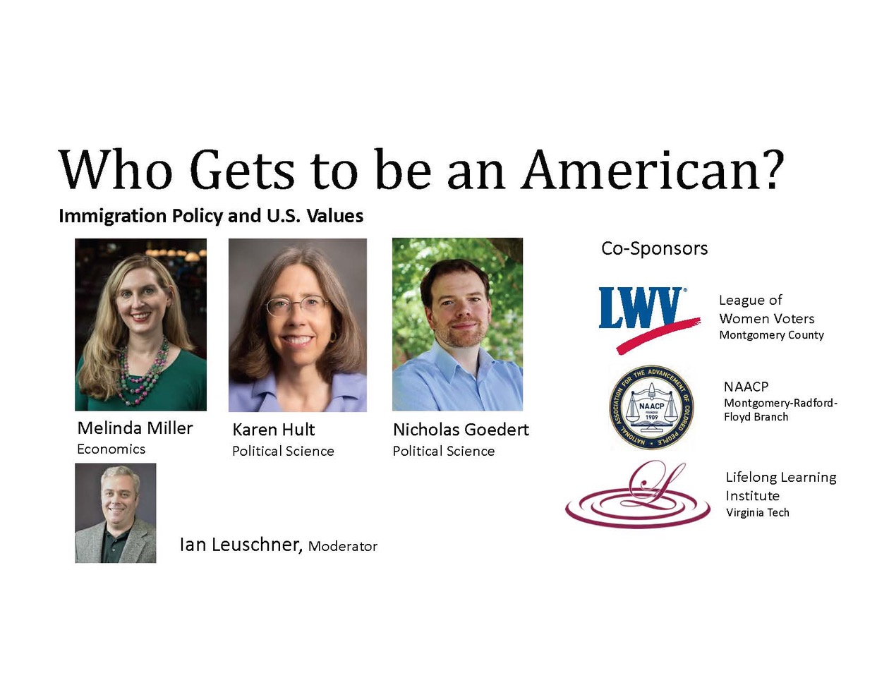 cover slide for panel on US immigration