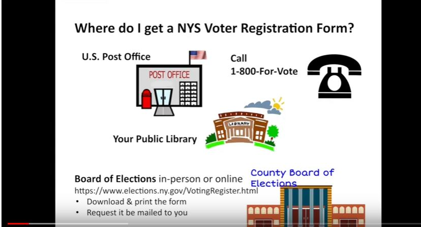 How to Register to Vote in NYS