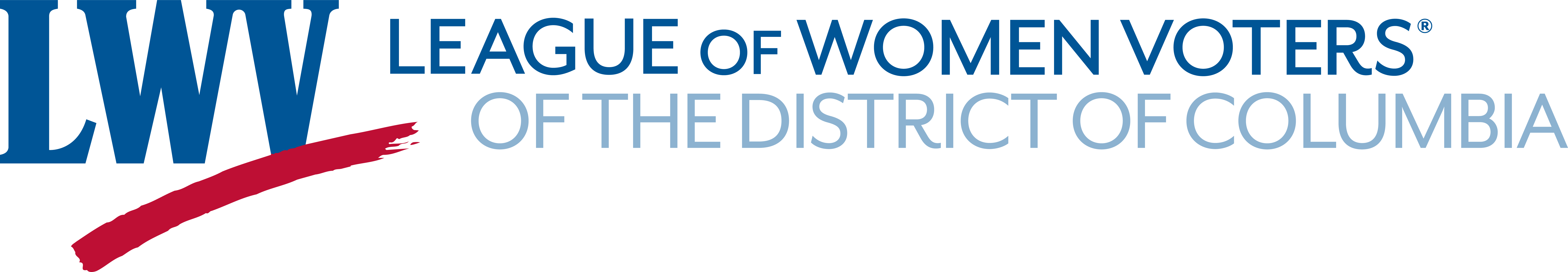 Official LWV Logo of LWV of District of Columbia