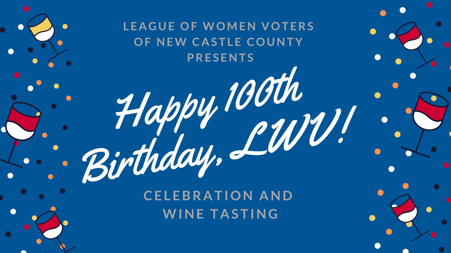 Happy 100th Birthday, LWV!