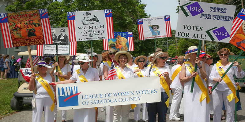 LWVNYS 100 Years Strong