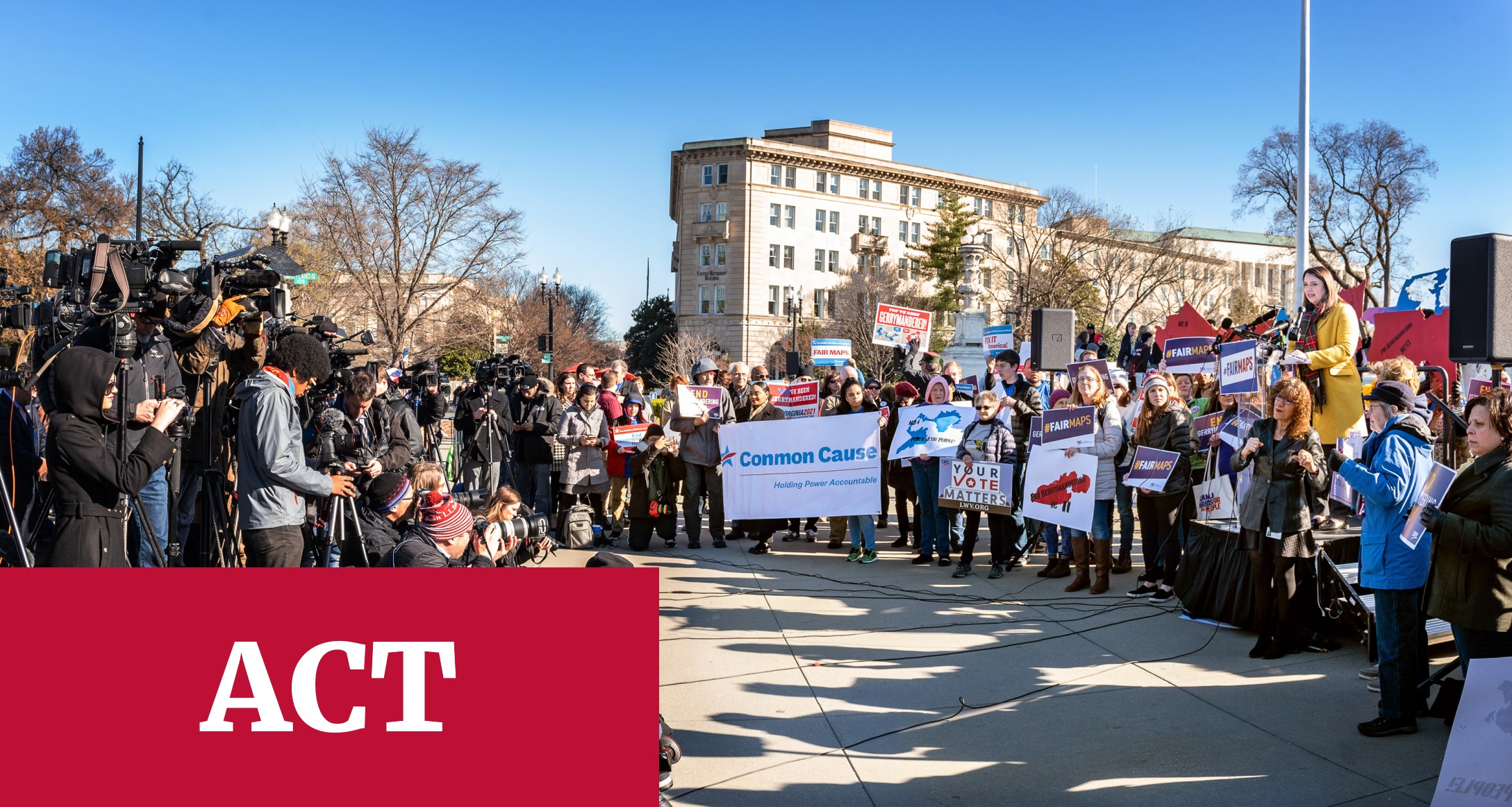ACT - Rally for Fair Maps in DC