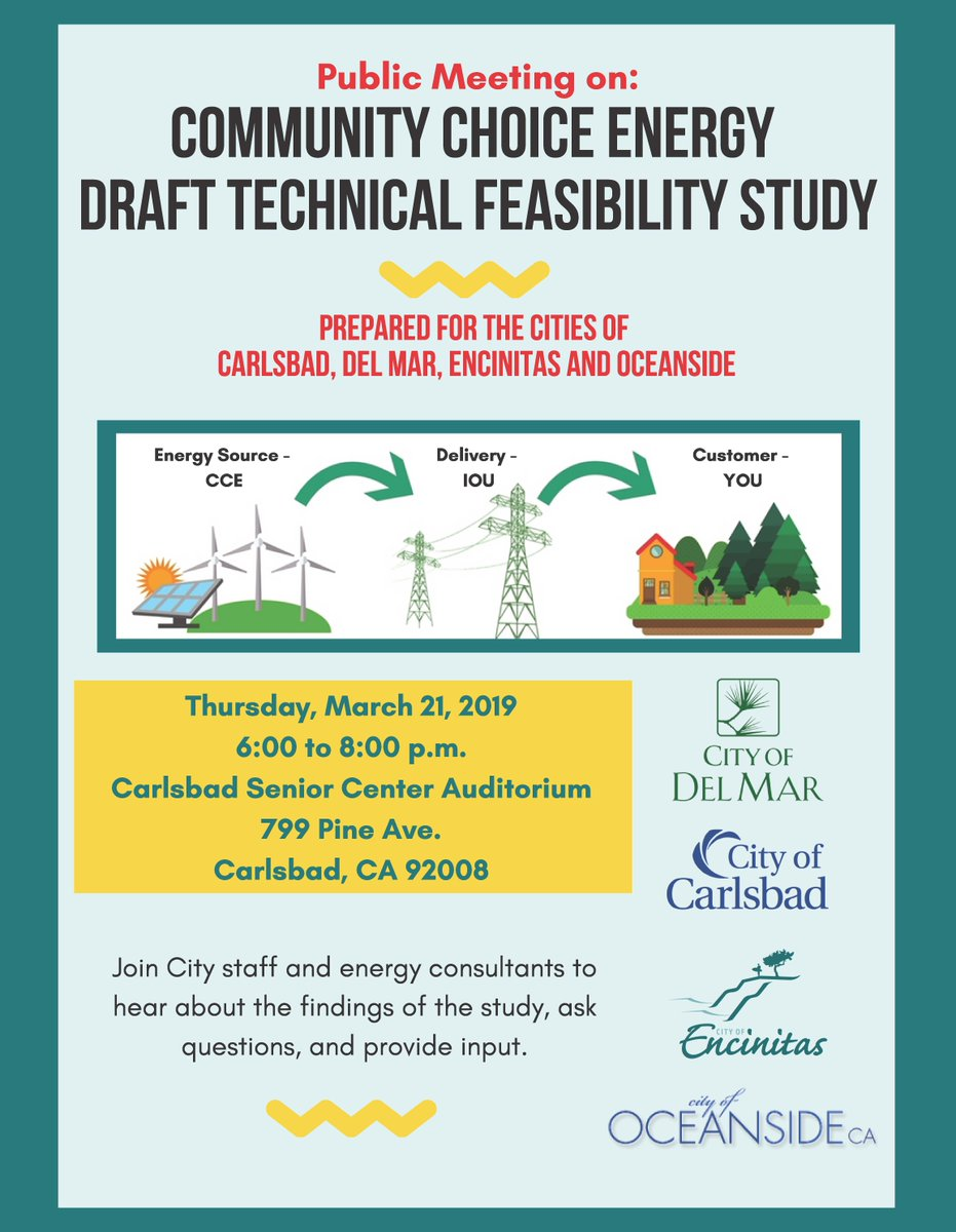 Public Meeting on Community Choice Energy Draft Technical Feasibility Study